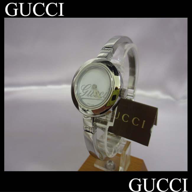 【中古】【グッチ】 腕時計 クォーツ グランデ YA105 バングル ha
