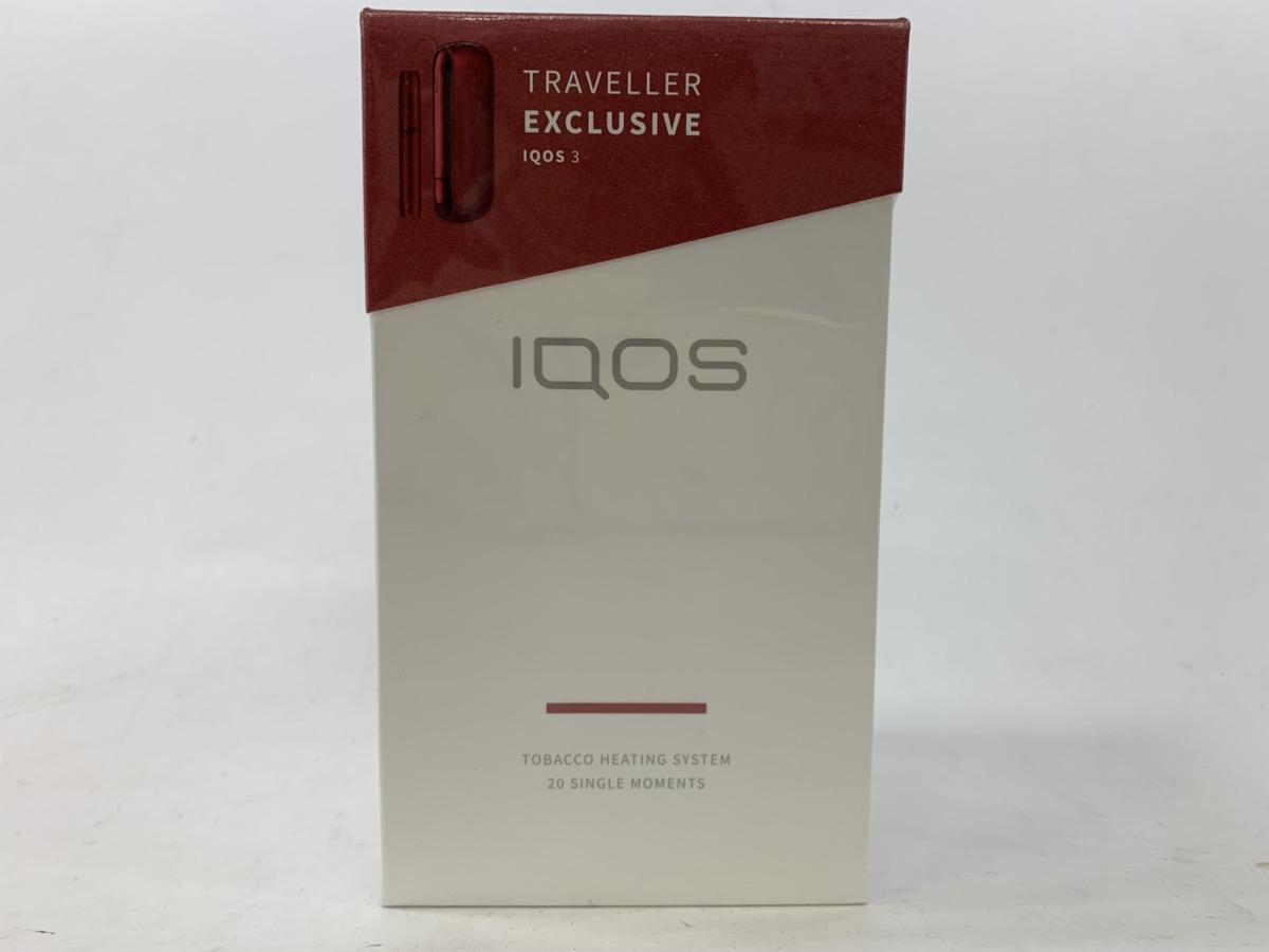 アイコス3 IQOS3 【ラディアント レッド・限定色】免税店限定発売「IQOS 3」新品・国内正規品【送料無料】レッド 限定品 限定カラー