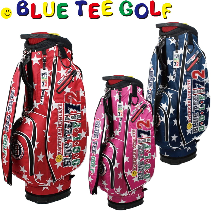 BLUE TEE GOLF ブルーティーゴルフ スターナイロン 軽量キャディバック 9型 BTG-CB006