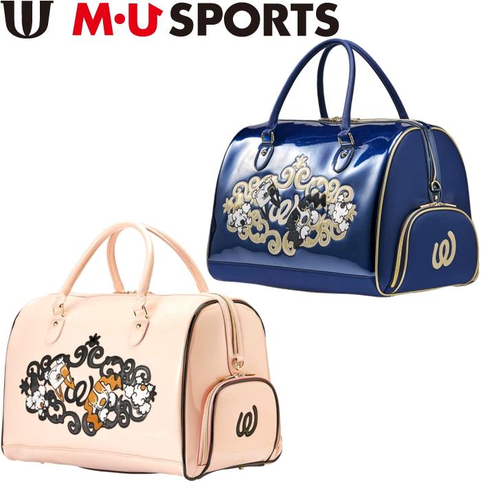 M・U SPORTS MUスポーツ  703P1200 ボストンバッグ
