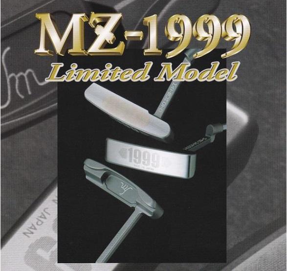 【新品】HIRO MATSUMOTO MZ-1999 Limited Modelヒロ マツモト パター 限定モデルロングネックピンタイプ 34.5インチ シリアルナンバー1300/1999