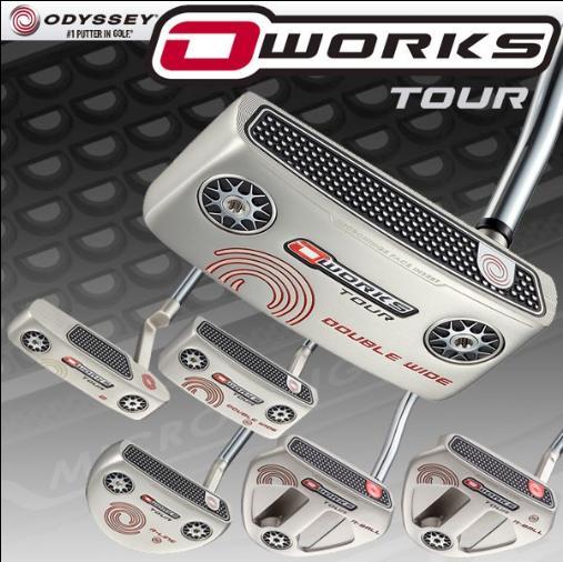 ODYSSEY O-WORKS TOUR PUTTER SILVER VERSIONオデッセイ オーワークス ツアーパター シルバーバージョン【日本正規品】
