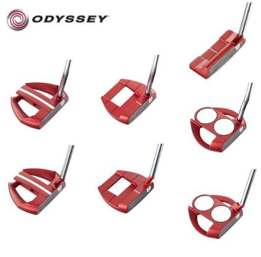 【値下げしました!】ODYSSEY O-WORKS RED PUTTERオデッセイ オーワークス レッドパター【日本正規品】, オオアサチョウ 35c34312