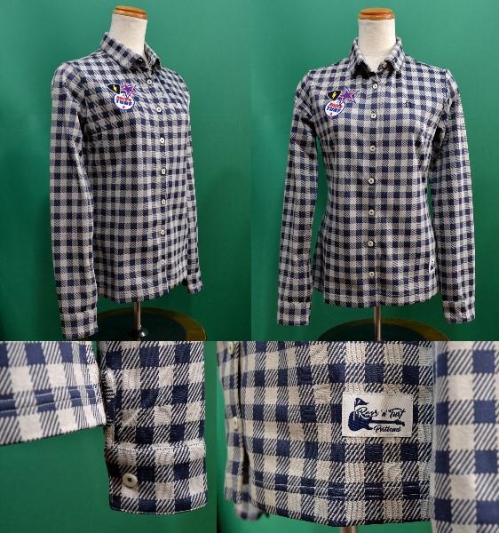 Munsingwear Ladies レディース チェックシャツマンシングウェア ゴルフウェア