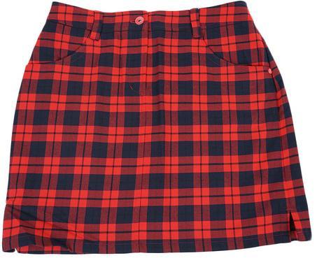 Munsingwear WOMEN レディースチェック ストレッチスカート マンシングウェア ゴルフウェアJWLK706