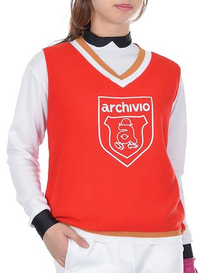 archivio Ladiesアルチビオ レディース VネックベストA758220
