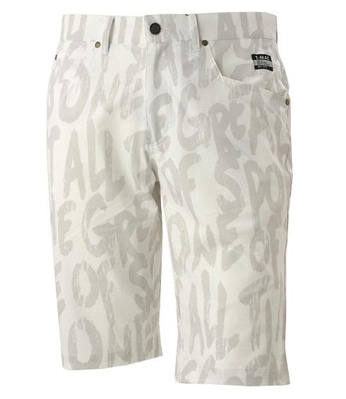 T-MAC GOLF Men'sティーマック ゴルフ メンズ ショートパンツB16インポートサイズ(大きめ)