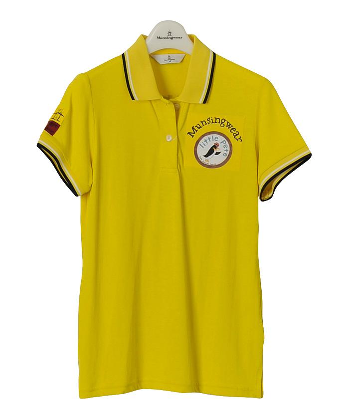 Munsingwear GOLF Ladiesマンシングウェア ゴルフ レディースSODEKAHO半袖シャツMGWLGA09