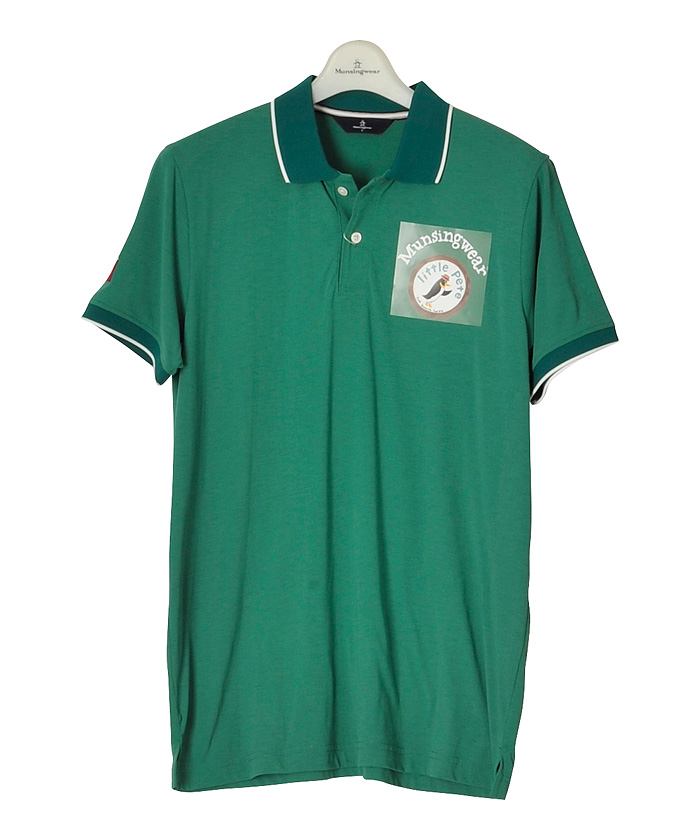 Munsingwear MEN'Sマンシングウェア メンズ SODEKAHOコラボ半袖シャツゴルフウェア