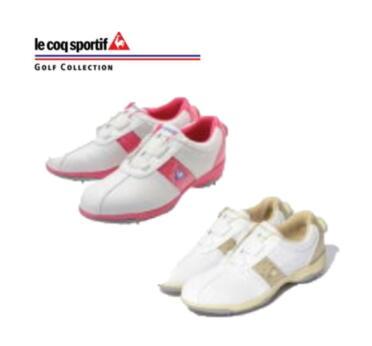 ルコック スポルティフ レディース ゴルフシューズQQL0583,QQL0584le coq sportif Ladie's golf shoes