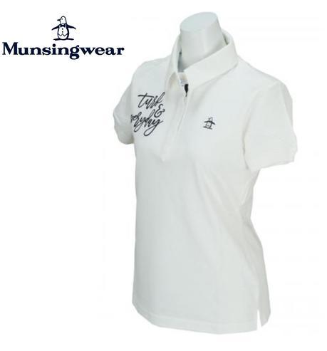 \12月26日~30日/エントリーで全品10倍以上Munsingwear JWLJ201マンシングウェア レディース半袖ポロシャツ