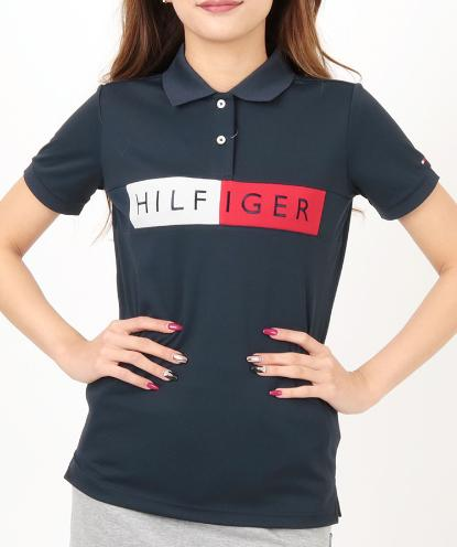 TOMMY HILFIGER GOLF THLA908トミーヒルフィガー ゴルフ レディース半袖ポロシャツ