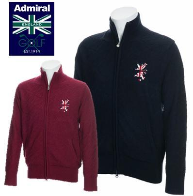 Admiral GOLF ADMA8T2アドミラル ゴルフ メンズUJリンクス アウターニット