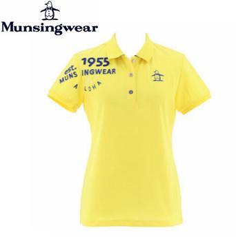 MunsingwearMGWNJA21マンシングウェア レディースロゴ刺繍デュアルコンフォート半袖シャツ