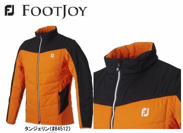 Foot Joy MEN'SFJ-F18-007フットジョイメンズウェアWR ストレッチ中綿ジャケット