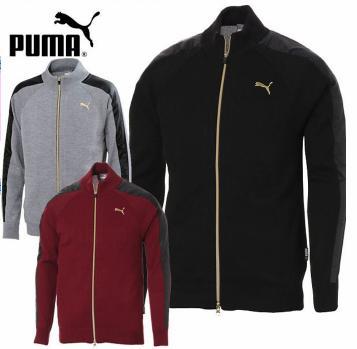 PUMA GOLF 923757プーマ メンズ TB FZ ウィンドブロックセーター