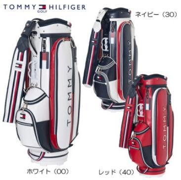 TOMMY HILFIGER GOLF THMG8FC5トミーヒルフィガー ゴルフフラッグアクセントキャディバッグ