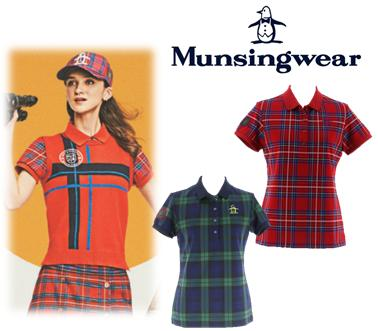 Munsing Wear MGWMGA01マンシングウェア レディース 【新垣 比菜プロ着用】DCダルグリーシュ 半袖シャツ