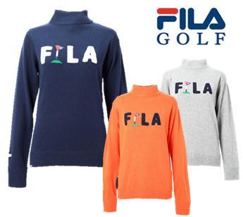FILA GOLF 798-703フィラ ゴルフ レディースハイネックセーター