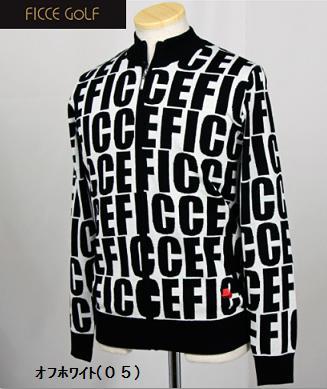 FICCE GOLF 281600フィッチェ ゴルフ メンズZIPセーター