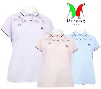 PICONE CLUB C859513ピッコーネクラブ レディースポロシャツ