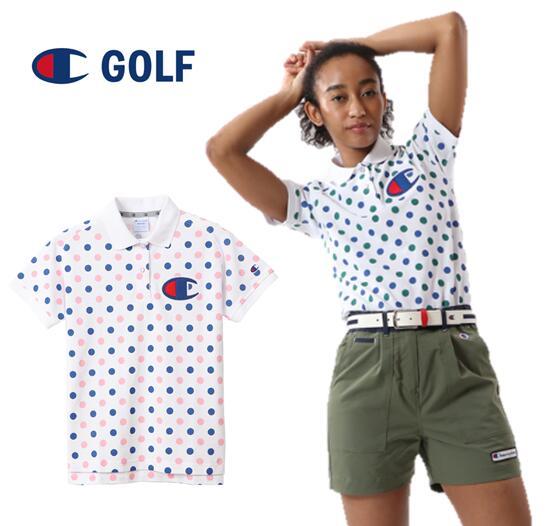 2020年春夏モデル Champion レディースポロシャツ NEW ARRIVAL GOLFCW-RG310チャンピオンゴルフ お得