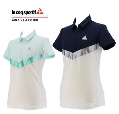 le coq sportif GOLF QGWNGA09ルコックスポルティフ ゴルフ レディース GLOBAL COLLECTION ストレッチ ポロシャツ