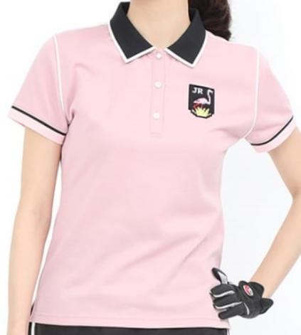\12月26日~30日/エントリーで全品10倍以上JUN&ROPE ERM-29050ジュン&ロペ レディースパイピング使い半袖ポロシャツ