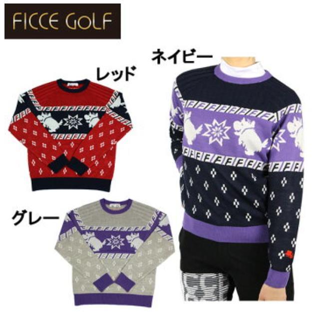 FICCE GOLF 282813フィッチェ ゴルフ レディースケンケンセーター