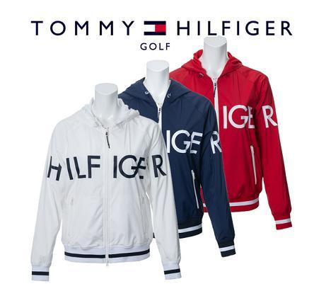 TOMMY HILFIGER GOLF THLA950トミーヒルフィガー ゴルフ レディースHILFIGER HOODED WIND JACKET