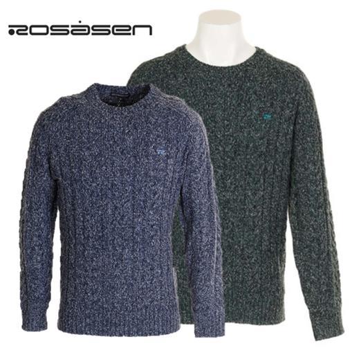 Rosasen 044-11912ロサーセン メンズMIXネップセーター