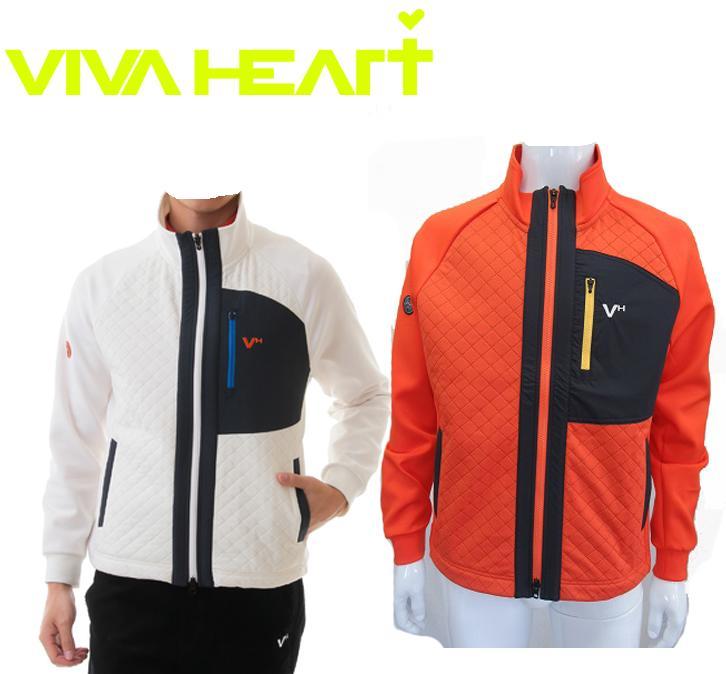 VIVA HEARTビバハート メンズ ピンソニックブルゾン011-56012
