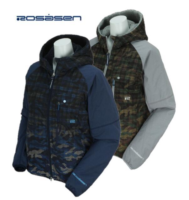 Rosasen 045-56012ロサーセン レディース迷彩 チェック カモフラ ブルゾン