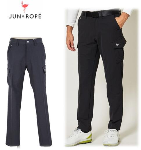 JUN&ROPE EJS-19190ジュン&ロペ メンズダブルクロス カーゴパンツ