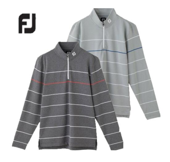 Foot Joy FJ-F19-S15フットジョイ メンズLSサーマルジャージ ハーフジップシャツ