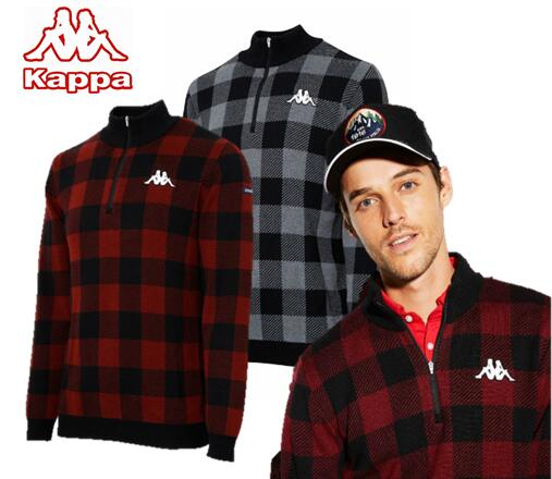 Kappa GOLF KG952SW42カッパゴルフ メンズハーフジップセーター
