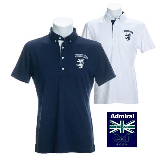 Admiral GOLF ADMA026アドミラルゴルフ メンズブリッツジャガード ポロシャツ