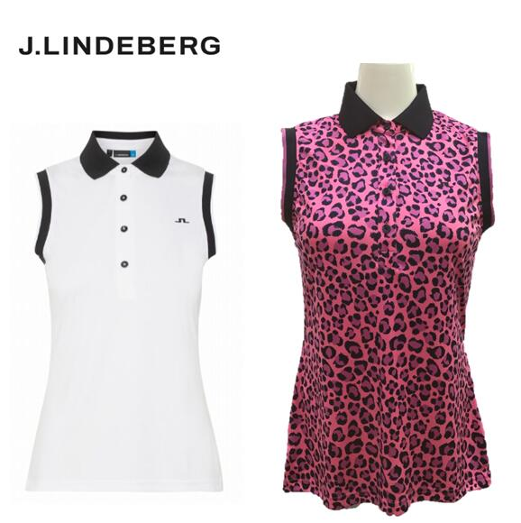 2020年春夏モデル J.LINDEBERG072-22471ジェイリンドバーグ 5☆好評 贈呈 レディースノースリーブシャツ