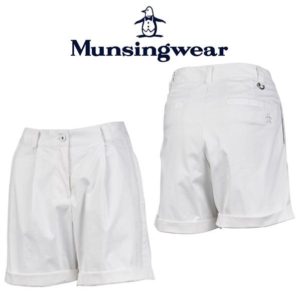 【期間限定価格】MunsingwearMGWPJD52マンシングウェア レディースサイドタックストレッチショートパンツ