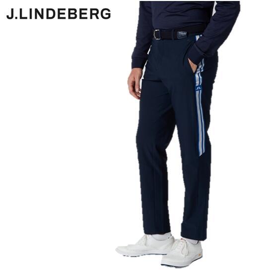 2020年秋冬モデル マーケット J.LINDEBERG071-73910GMPA02863ジェイリンドバーグ メンズサイドラインパンツARCHER GOLF TROUSERS ファクトリーアウトレット