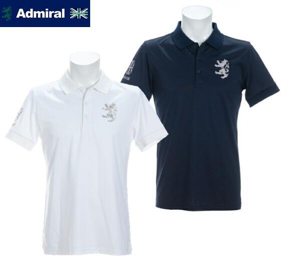 2021年春夏モデル Admiral GOLFADMA115アドミラルゴルフ メンズ10周年モデル 2020A W新作送料無料 半袖ポロシャツ セール