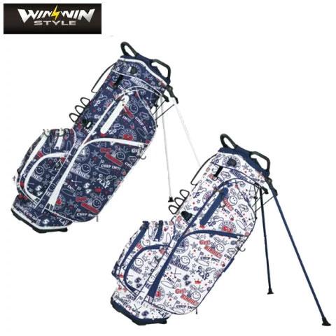 ウィンウィンスタイル WINWIN STYLE ゴルフ スタンドバッグ LUCKY CHARACTER LIGHT STAND BAG CB-906,CB-907