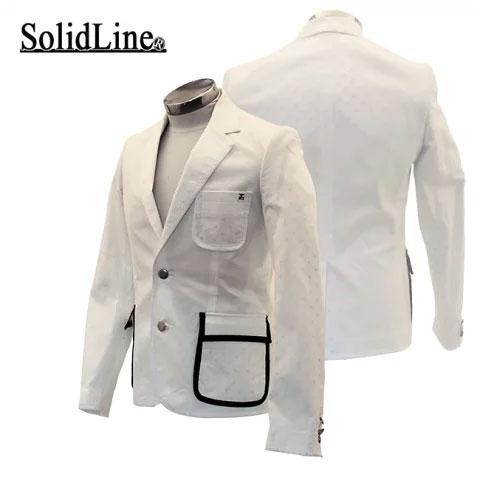 特価 ソリッドライン solidLine メンズ ゴルフ ジャケット SLS11-012
