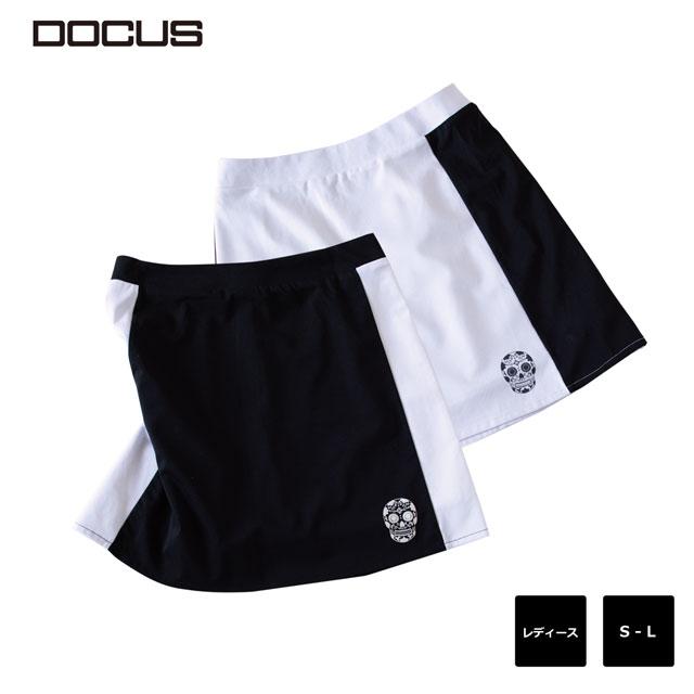 ドゥーカス DOCUS BI カラー スカート レディース シンプル クール かっこいい おしゃれ 女子 2020年 春夏 ゴルフ ウェア DCL20S002 あす楽 ユナイテッドコアーズ