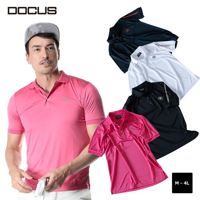 ドゥーカス DOCUS クールポロ Cool Polo ポロシャツ メンズ 大人 かっこいい おしゃれ 2020年 春夏 新作 ゴルフウェア 半袖 ポロ DOCUS dcm20s005 ユナイテッドコアーズあす楽
