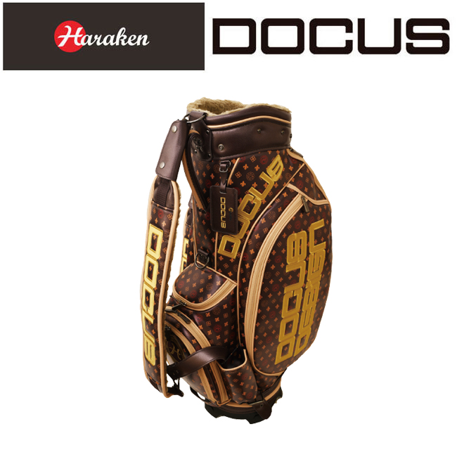 ドゥーカス DOCUS メンズゴルフ キャディバッグ ヘッドカバーセット Dogram 9 DCC732