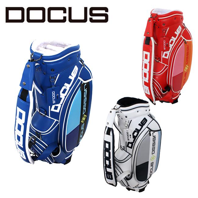 ドゥーカス スタイリッシュ キャディバッグ 9インチ メンズ レディース 大人 かっこいい おしゃれ 大容量 ゴルフ バッグ DOCUS DCC743 コアーズ市場店