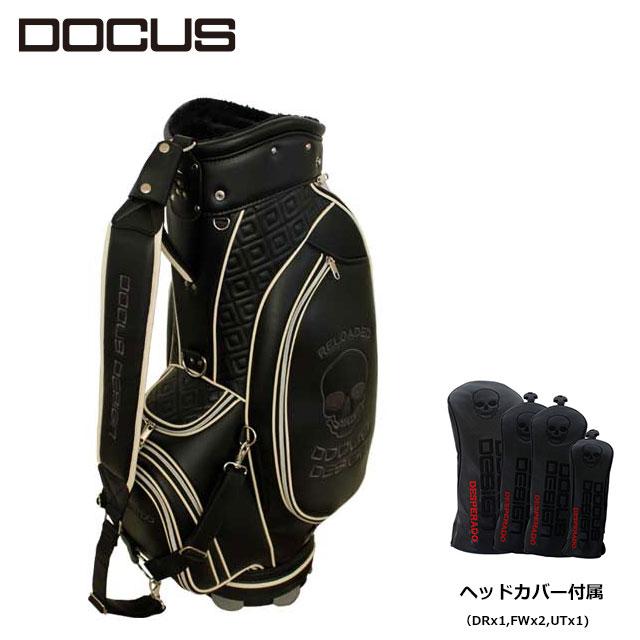 ドゥーカス キャディバッグ ヘッドカバーセット DOCUS Reloaded Tour リローデッド ツアー メンズ ゴルフ 9型 DCC754S かっこいい オシャレ クール 大人 ユナイテッドコアーズ