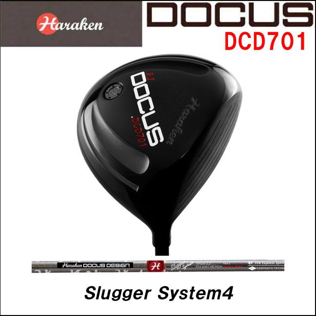 ドゥーカス DOCUS メンズゴルフクラブ DCD701 ドライバー DOCUS Slugger System4