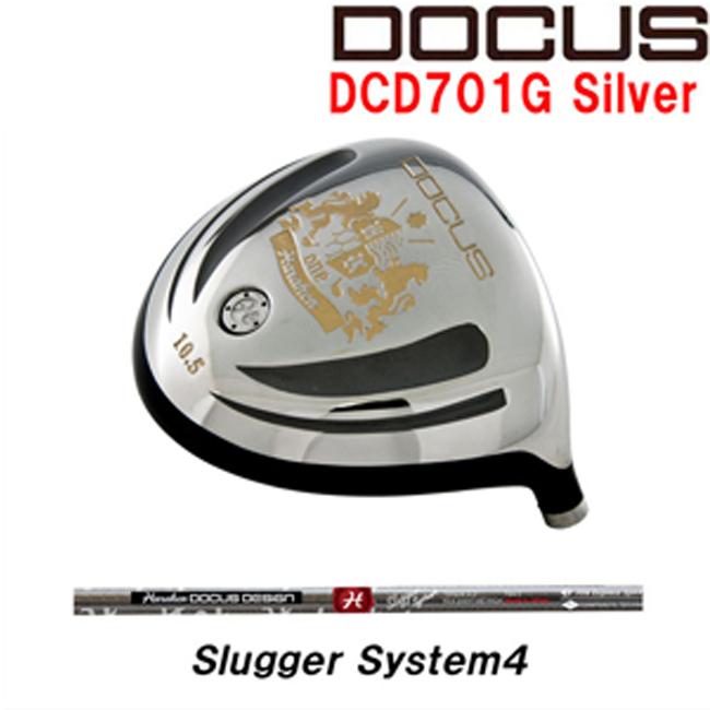 ドゥーカス DOCUS メンズゴルフクラブ DCD701G Silver ドライバー DOCUS Slugger System4